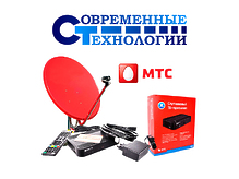 Спутниковая антенна МТС ТВ с установкой