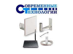 Комплект для интернета - антенна 3G-4G, роутер, модем