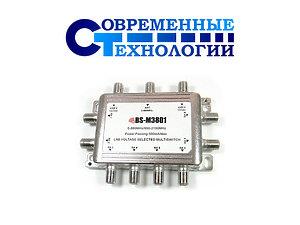 Мультисвитч спутниковый BS-M3801